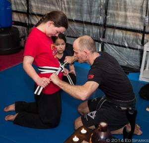 Martial Way Black Belt Test